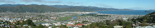 lower hutt panorama